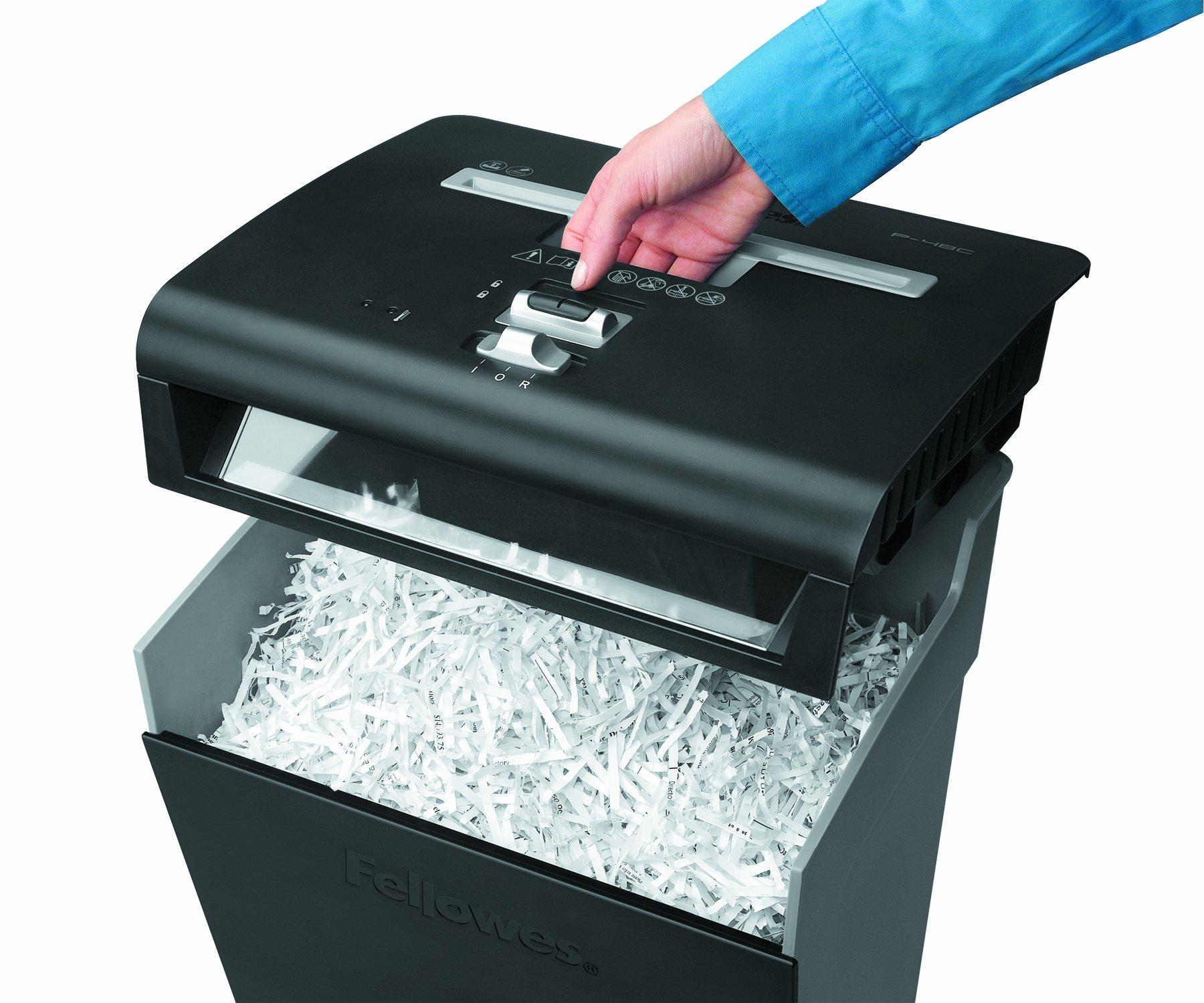 Шредер для бумаги со скрепками