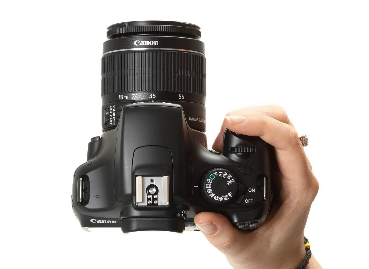 Fotocamera reflex digitale canon eos 1100 d 5