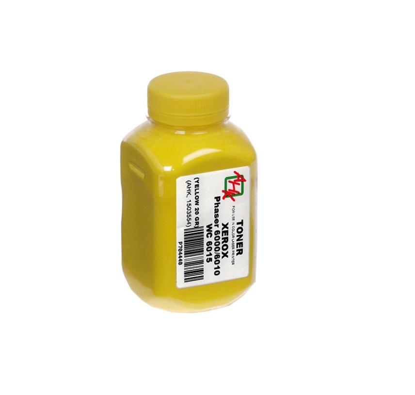 Купить Тонер AHK Xerox Phaser 6000/6010/WC6015 жовтий, 1503554
