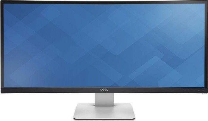 Купить Монітори, Монітор Dell U3415W (210-ADYS) чорний