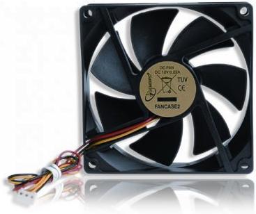 Купить Вентилятор для корпуса Gembird FANCASE2
