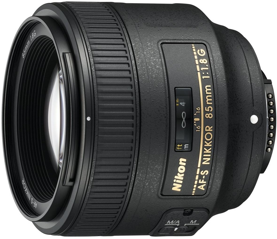 Об'єктив Nikon AF-S 85mm f/ 1.8G, JAA341DA  - купить со скидкой