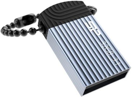 Купить Флешка USB Silicon Power Jewel J20 32GB SP032GBUF3J20V1B Blue