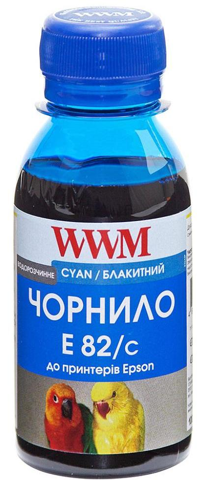 Чорнило WWM Epson Stylus Photo T50/P50/PX660 блакитне, E82/C-2  - купить со скидкой