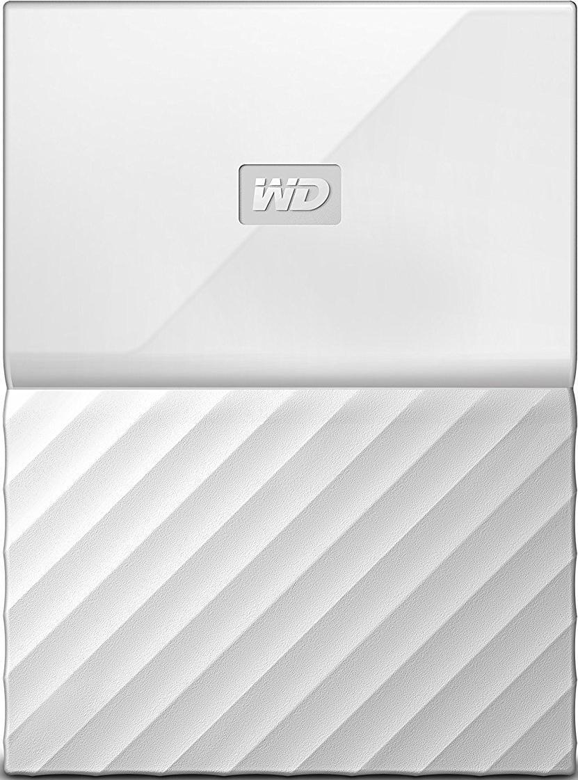 Купить Зовнішній жорсткий диск Western Digital My Passport 1 ТБ білий, WDBYNN0010BWT-WESN