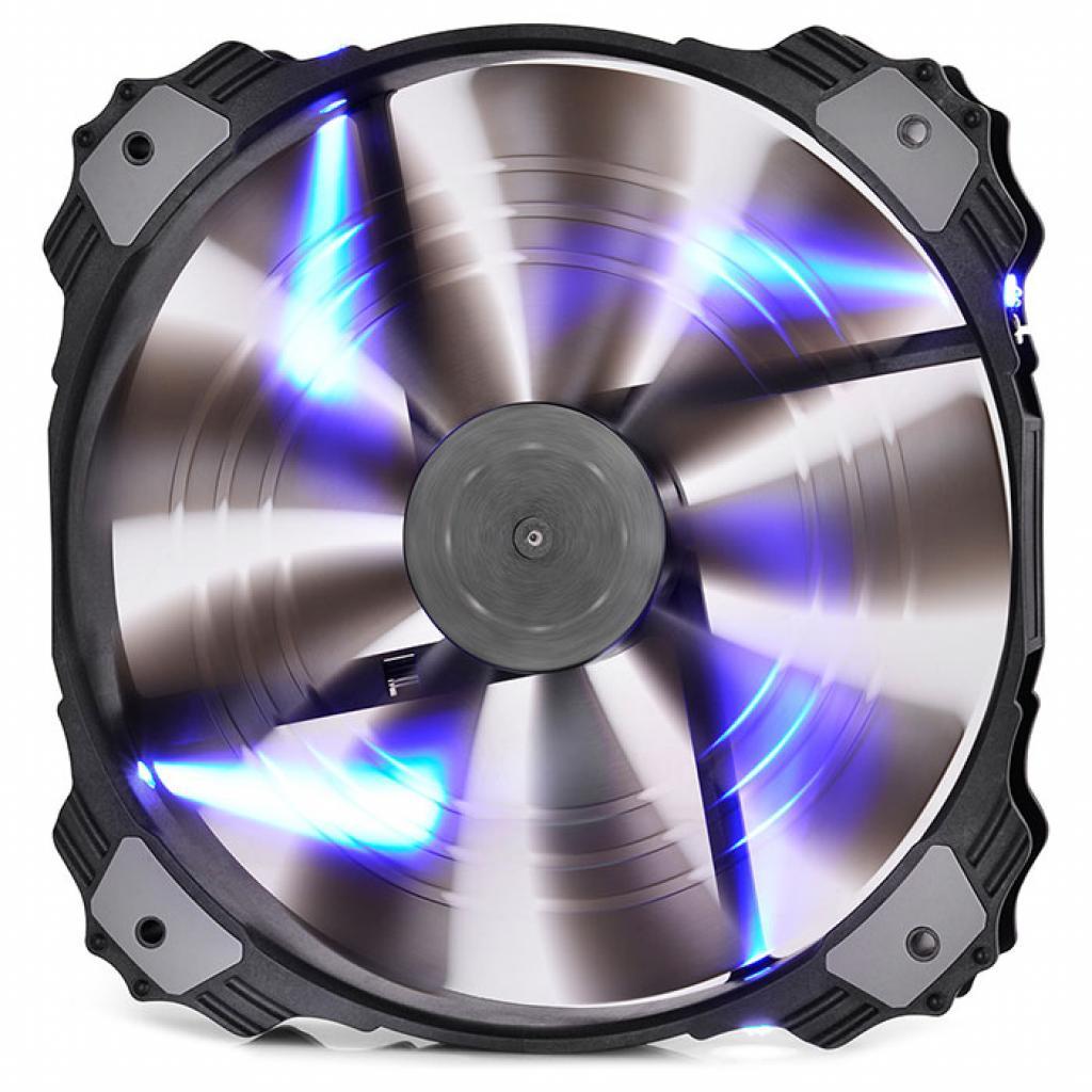 Купить Вентилятор для корпуса Deepcool X-FAN200BL синій LED, XFAN200BL