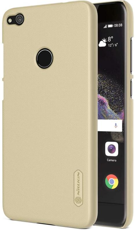 Купить Чохол Nillkin для Huawei P8 Lite (2017) - Super Frosted Shield золотий, Huawei P8 Lite (2017) Frosted Gold