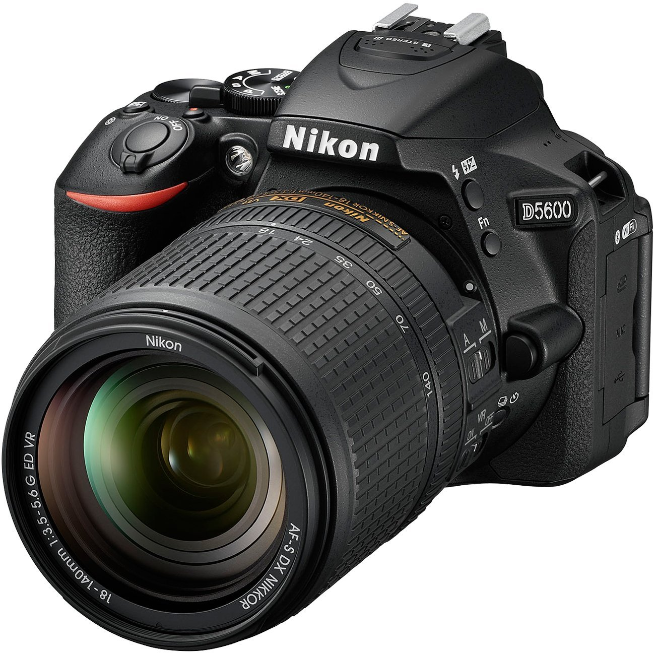Купить Цифрова фотокамера дзеркальна Nikon D5600 kit AF-P 18-140мм, VBA500K002