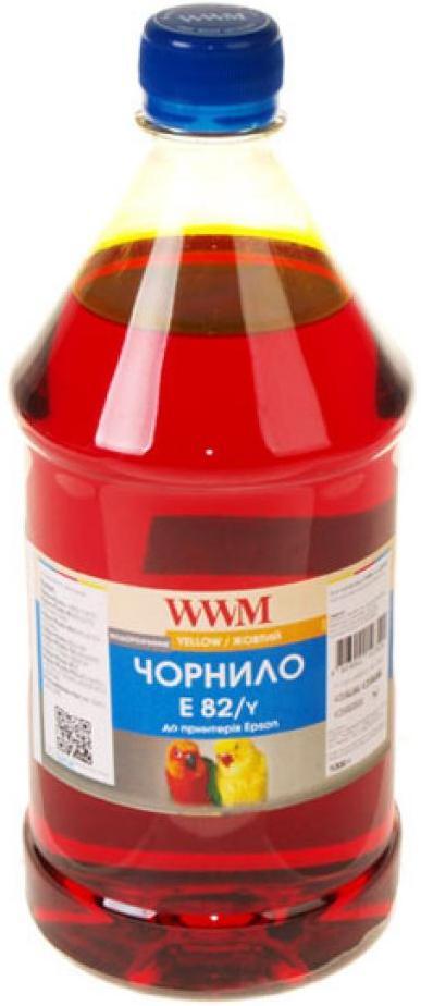 Купить Чорнило WWM E82/Y-4 Epson Stylus Photo T50/P50/PX660 1000 г жовте