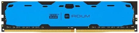 Купить Пам'ять GoodRam Iridium Blue DDR4 1x8 ГБ (IR-B2400D464L15S/8G)