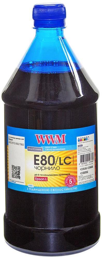 Купить Чорнило WWM E80/LC-4 Epson L800 Light Cyan