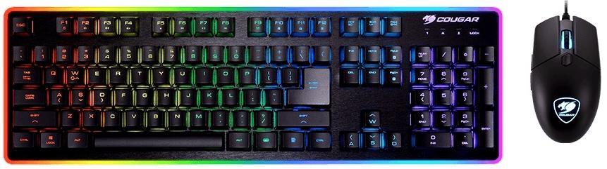 Купить Комплект клавіатура+миша ігровий Cougar Deathfire EX Black