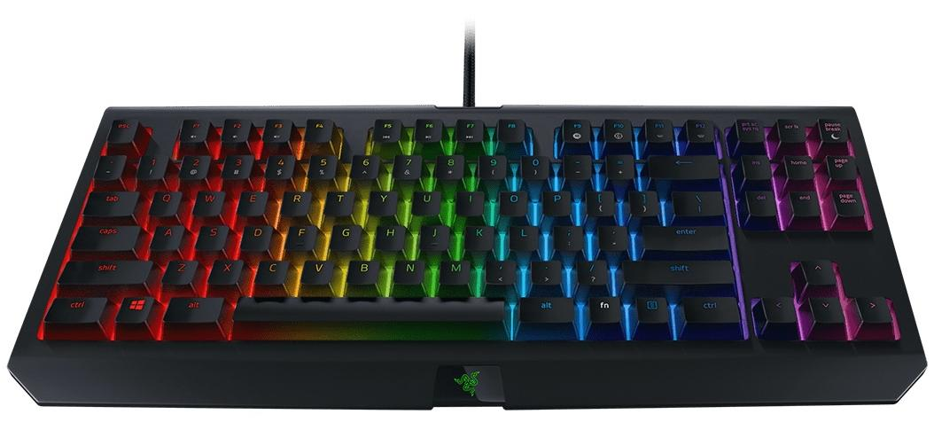Купить Клавіатура Razer Black Widow TE CHROMA V2 Yellow switch (RZ03-02190800-R3M1)