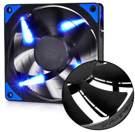 Купить Кулери, Вентилятор для корпуса Deepcool TF120 Blue