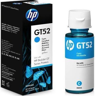 Купить Чорнило HP GT52 5810/5820 Cyan, M0H54AE, Hewlett-Packard