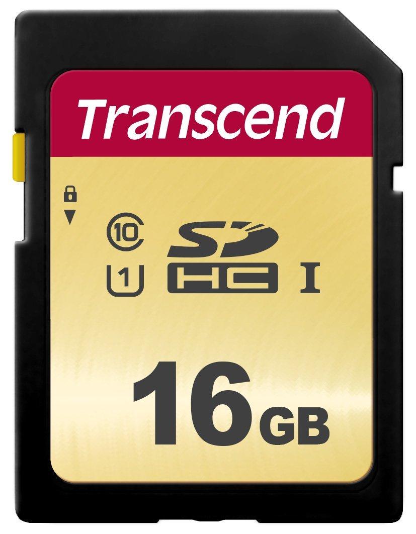 Купить Карта пам'яті Transcend 500S SDHC 16GB TS16GSDC500S