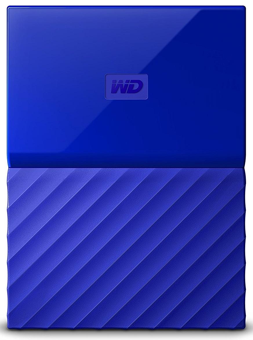Купить Зовнішній жорсткий диск Western Digital My Passport 2TB WDBS4B0020BBL-WESN Blue