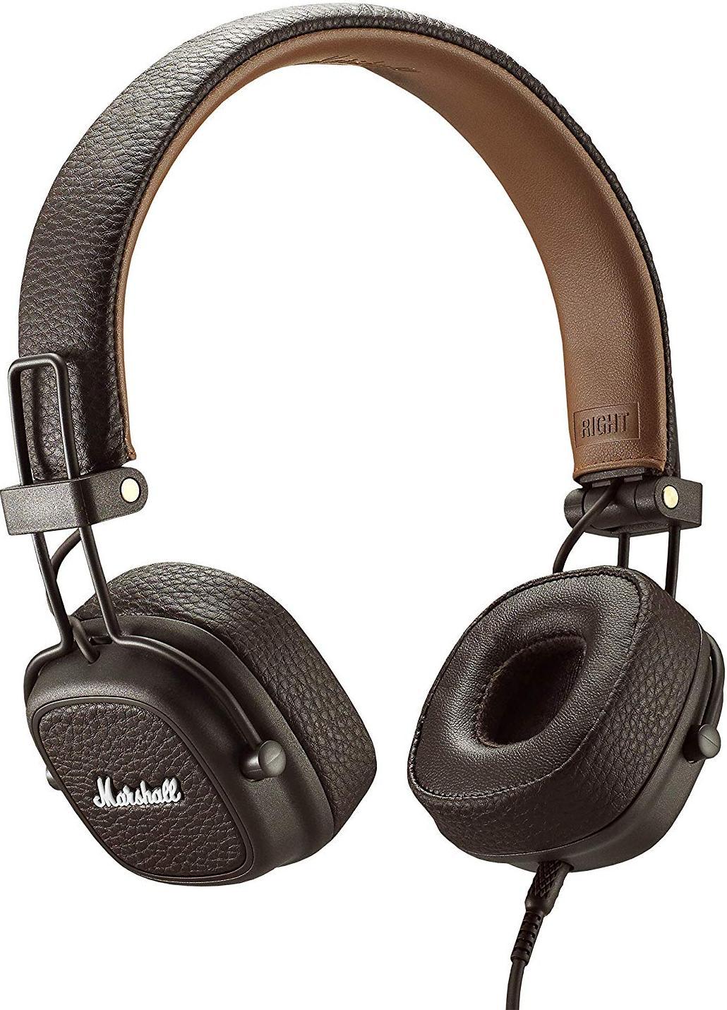 Навушники та гарнітури, Гарнітура Marshall Major III Brown (4092184)  - купить со скидкой