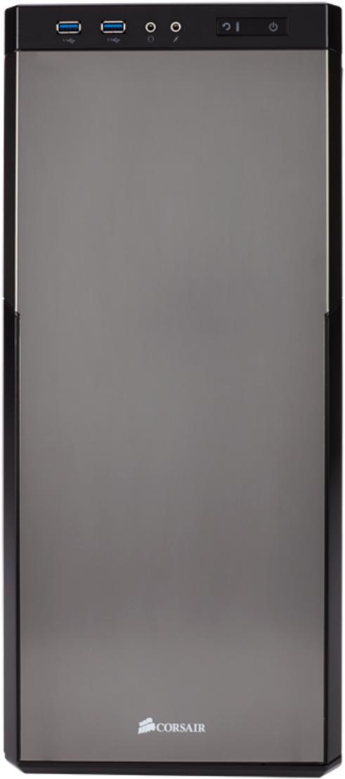 Купить Корпус для ПК Corsair Carbide 330R Titanium Edition Black (CC-9011071-WW)