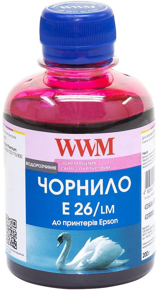 Купить Чорнило WWM for Epson Expression Photo XP-55/XP-750/XP-850 Light Magenta 200g (E26/LM)