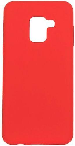 Купить Аксесуари для мобільних телефонів, Чохол ColorWay for Samsung Galaxy A8 2018 A530 - Liquid Silicone Red (CW-CLSSGA530-RD)