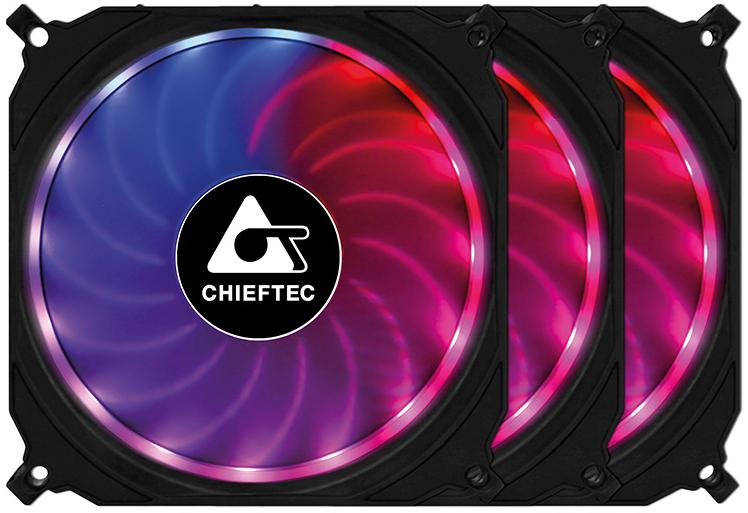 Купить Вентилятор для корпуса Chieftec Tornado (CF-3012-RGB)
