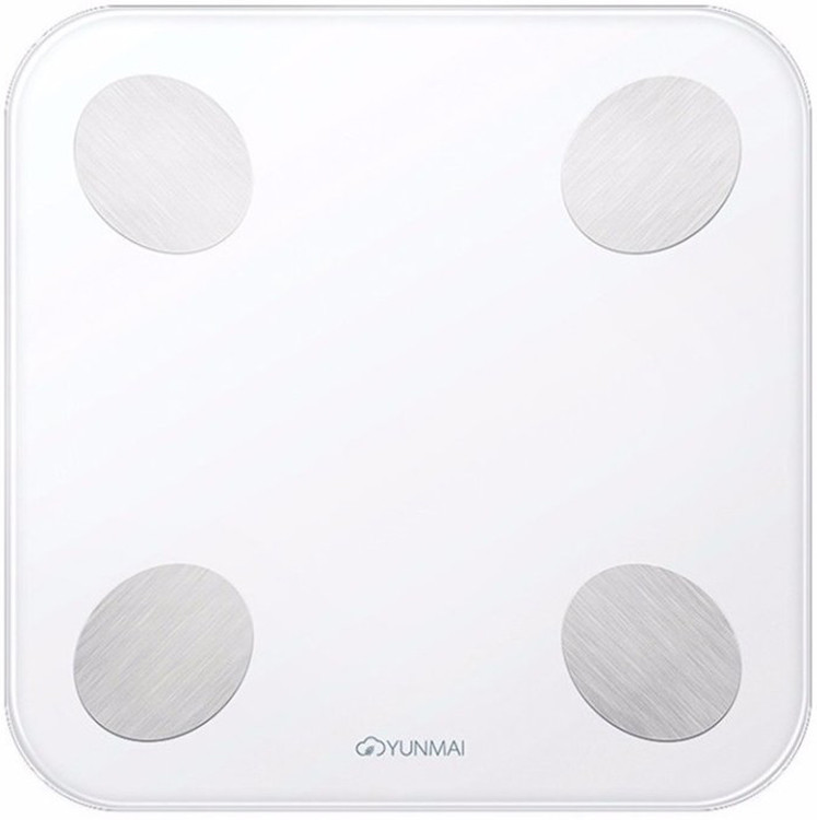 Купить Розумні гаджети, Смарт ваги YUNMAI Balance Smart Scale White (M1690-WH)