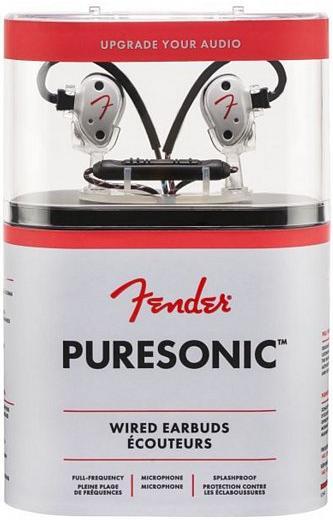 Купить Навушники та гарнітури, Гарнітура Fender Puresonic Wired Earbuds Olympic Pearl (PSWEOLPRL)