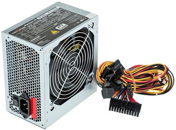Купить Блоки живлення для ПК, Блок живлення Logicpower ATX-550 550W Grey (ATX-550W 12)