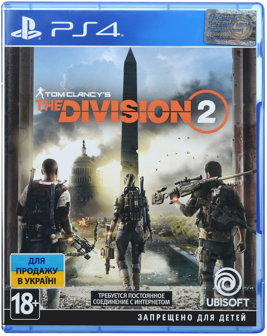 Гра Tom Clancy's The Division 2 [PS4, Russian version] Blu-ray диск