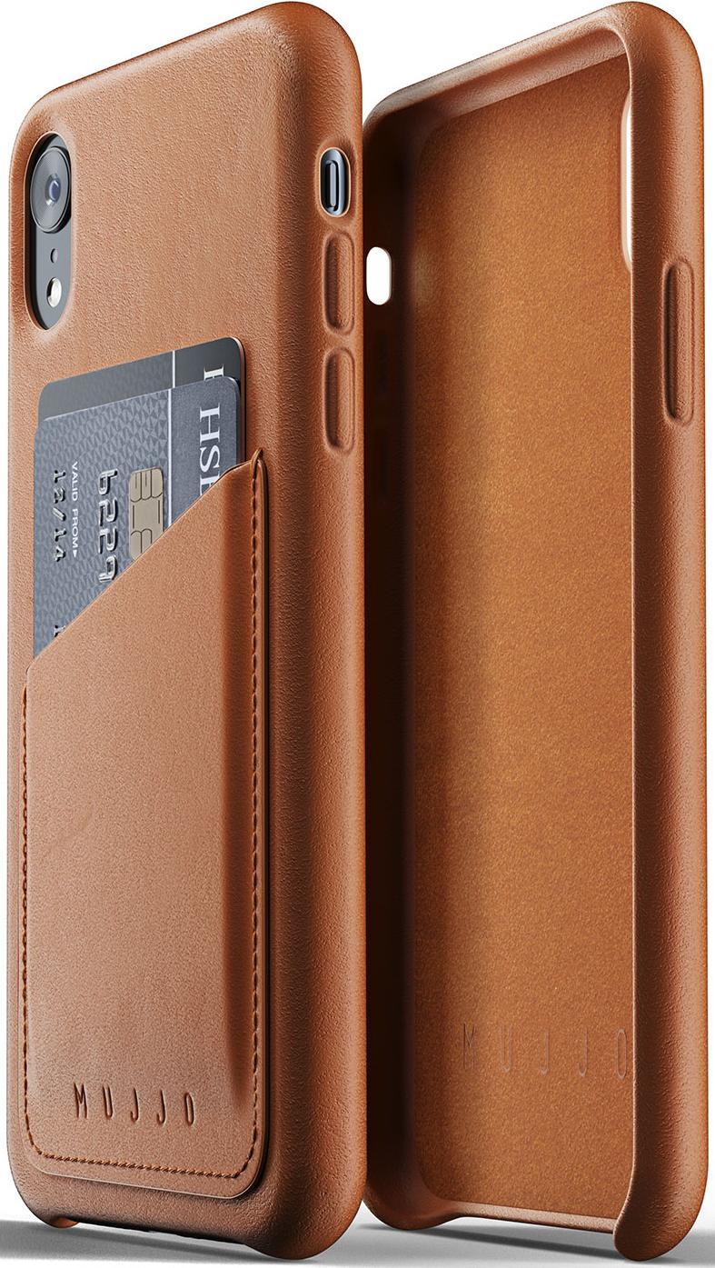 Купить Аксесуари для мобільних телефонів, Чохол MUJJO for iPhone XR - Full Leather Wallet Tan (MUJJO-CS-104-TN)