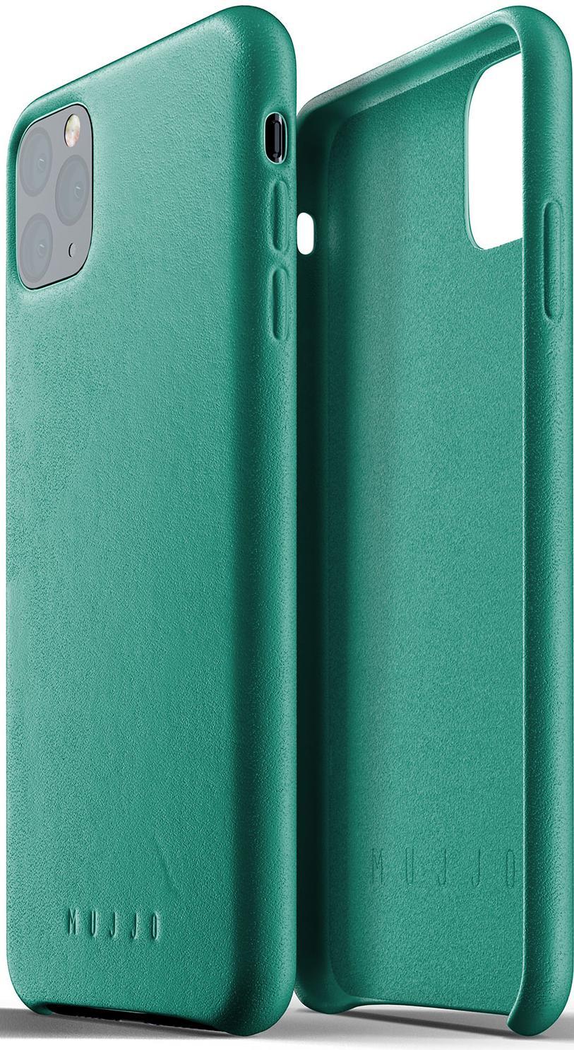 Купить Аксесуари для мобільних телефонів, Чохол MUJJO for iPhone 11 Pro Max - Full Leather Alpine Green (MUJJO-CL-003-GR)