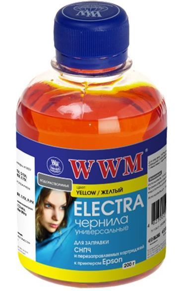 Купить Чорнило WWM EU/Y Electra Universal Epson жовте, EU/Y_200g