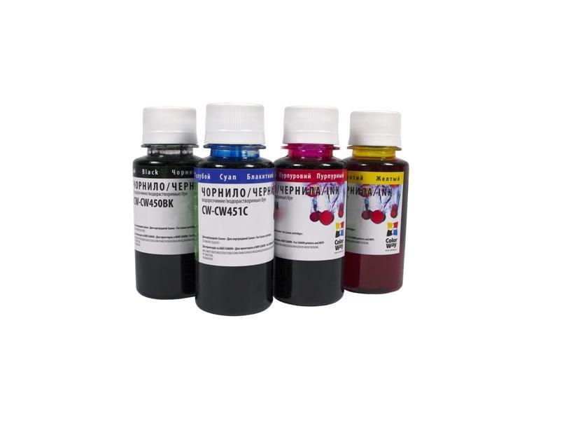 Купить Чорнило ColorWay Canon CLI-451 малинове, CW-CW451M02
