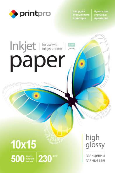 Купить Фотопапір 10х15 ColorWay PrintPro 500 аркушів (PGE2305004R)