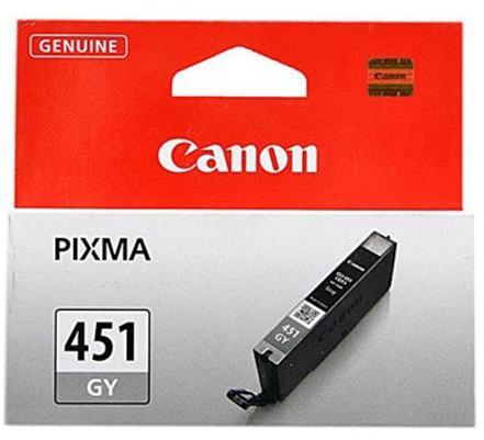 Купить Картридж Canon CLI-451GY Canon PIXMA MG6340 сірий, 6527B001