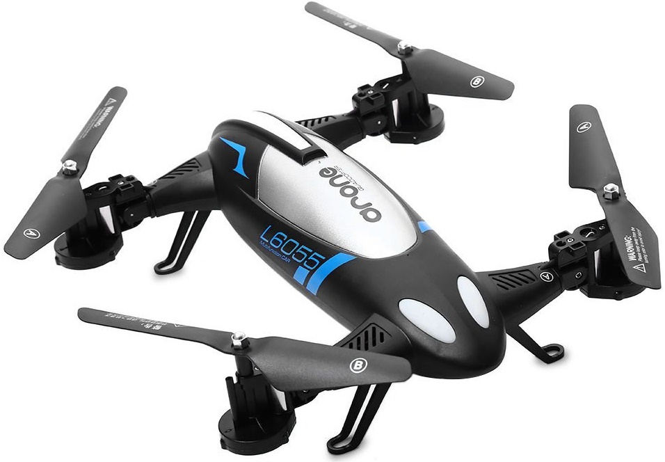 Купить Квадрокоптер Happy Sun 2.4G L6055, 2в1 з барометром чорний/білий