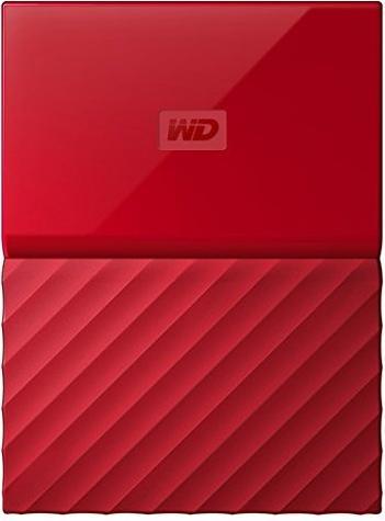 Купить Зовнішній жорсткий диск Western Digital My Passport 1 ТБ червоний, WDBYNN0010BRD-WESN
