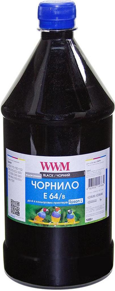 Купить Чорнило WWM Epson L110/L210/L355 E64/B-4 чорне