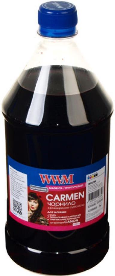 Купить Чорнило WWM CU/M-4 Canon Universal CARMEN 1000 г малинове
