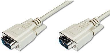 Купить Кабель Digitus VGA / VGA 3 м білий, AK-310100-030-E