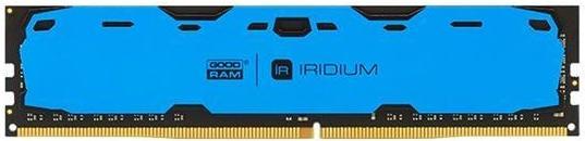 Купить Пам'ять GoodRam Iridium Blue DDR4 1x4 ГБ (IR-B2400D464L15S/4G)