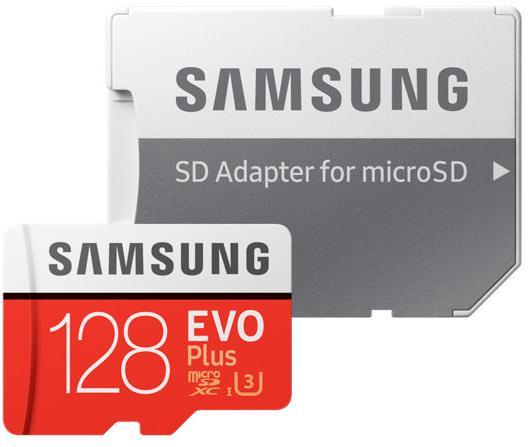 Купить Карта пам'яті Samsung Micro SDXC Samsung Evo Plus 128GB (MB-MC128GA/RU)