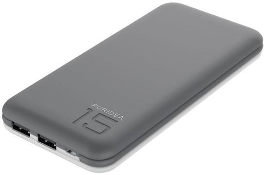 Купить Батарея універсальна Puridea S3 15000mAh Grey/White (S3-Grey White)