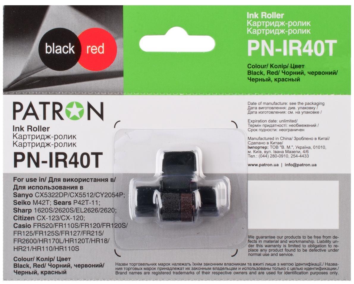 Купить Картридж-ролик Patron R-40T (PN-IR40T) Black/Red, CTYP-IR-40T-PN