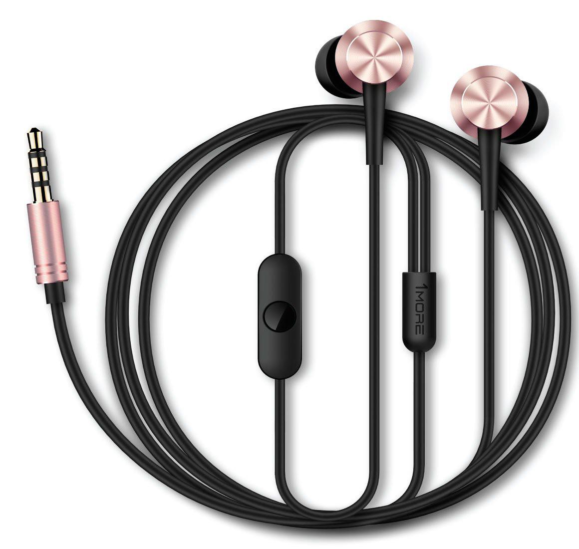 Купить Навушники та гарнітури, Гарнітура 1more Piston Fit Pink (387486)