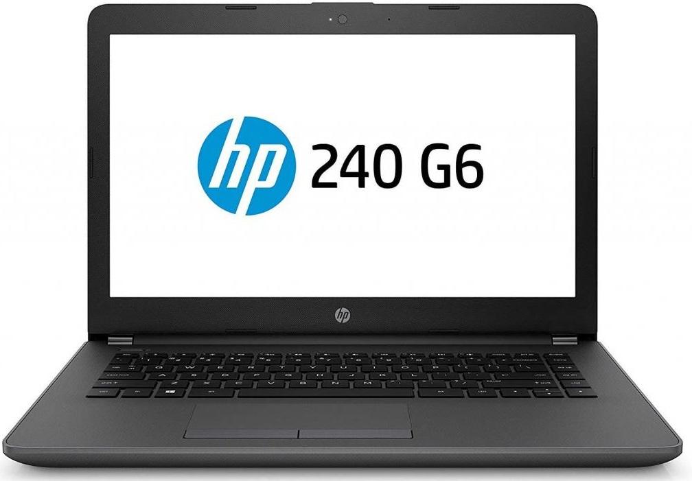 Купить Ноутбук Hewlett-Packard 240 G6 4WU35EA Dark Ash