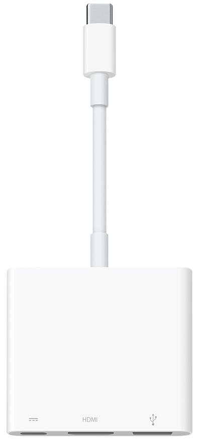 Купить Адаптер Apple USB-C Digital AV Multiport Adapter (MJ1K2)