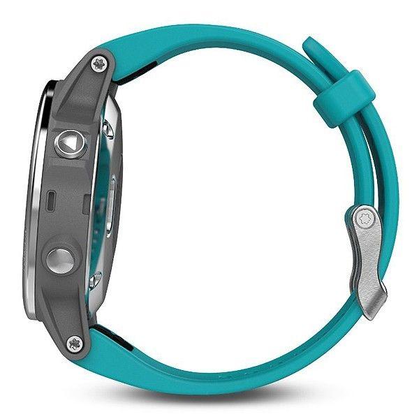 ... Смарт годинник Garmin Fenix 5S GPS 42mm Turquoise (010-01685-01) ... ad02aeef43892