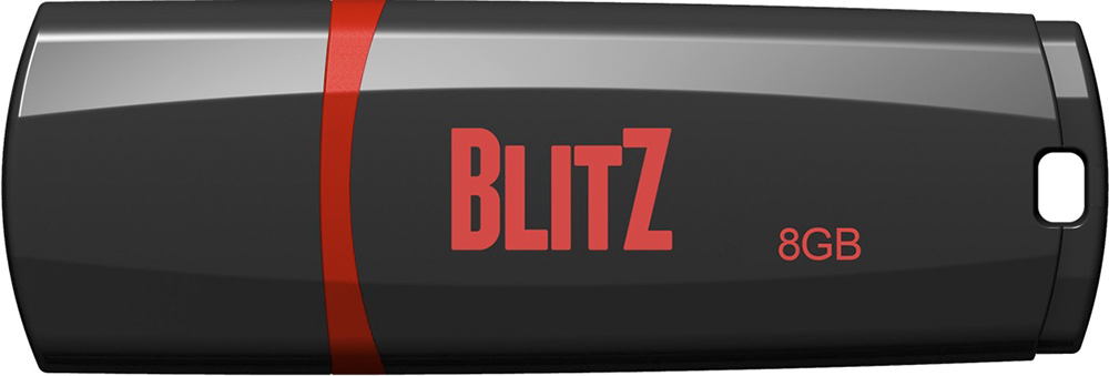 Купить Флешка USB Patriot Blitz 8GB PSF8GBLZ3BUSB Black